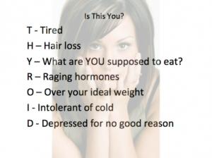thyroid symptom